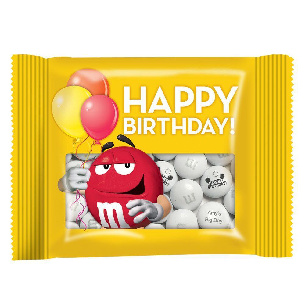 お誕生日 小分け済みパック 袋セット M M S エムアンドエムズ オーダーメイド オリジナルメッセージチョコレート パーティー どんなお祝いにも 結婚式引き出物 内祝い 誕生日 記念日 マイエムアンドエムズドットインフォ