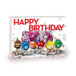 ギフトボックス お誕生日 M M S 450g エムアンドエムズ オーダーメイド オリジナルメッセージチョコレート 写真 名入れ 結婚式引き出物 内祝い 誕生日 記念日 マイエムアンドエムズドットインフォ